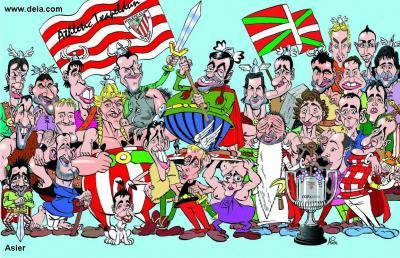 ATHLETIC-BARÇA:JOTAKE IRABAZI ARTE!!!! ETA KOPA HAU EUSKALDUNA DA,KATALANA EZ!!!!