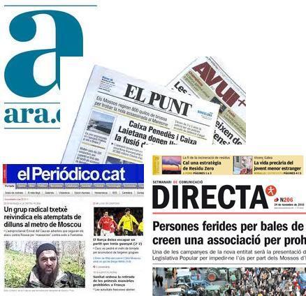 NI,ZU TA BIOK.Tambores de guerra en la prensa nacionalista catalana