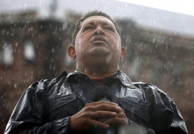 ESKELAK.Hugo Chávez,Venezuelako presidentea,hil da.