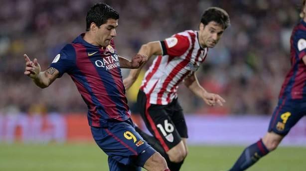 ORAIN KIROLAK.KOPA FINALA.Messi acaba con las ilusiones del Athletic por lograr la Copa
